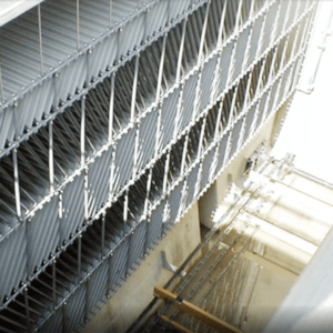 傾斜板沈降装置