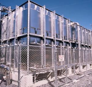 ボルト組立形ステンレスパネルタンク