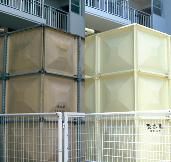 貯水槽更新工事